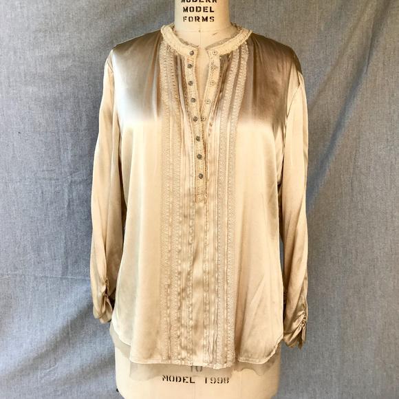 08f8f15225f45 Elie Tahari Silk Blouse